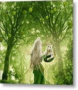 The Apple Fairy Metal Print