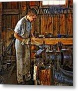 The Apprentice Hdr Metal Print