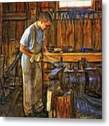 The Apprentice - Paint Metal Print