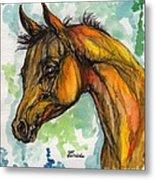 The Arabian Foal Metal Print