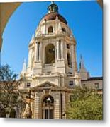 The Arch - Pasadena City Hall. Metal Print