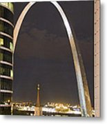 The Arch And Cathedral Metal Print
