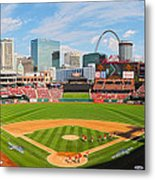 The Arch In The Outfield Metal Print