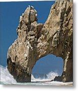 The Arch Of Los Cabos San Lucas Metal Print