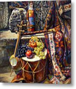 The Armenian Still-life With A Armenian Doll Metal Print