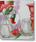The Arrangement Metal Print