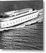 The Art Deco Ferry Kalakala Metal Print