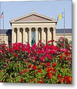 The Art Museum In Summer Metal Print