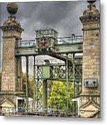 The Art Nouveau Ships Elevator - Portal View Metal Print