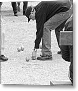 The Art Of Boules  Metal Print