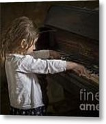 The Art Of Melody Metal Print