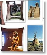 The Art Of New Mexico Metal Print