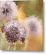 The Art Of Pollination Metal Print