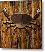 The Art Of The Crab Metal Print