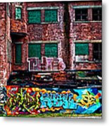 The Art Of The Streets Metal Print by Karol Livote