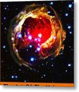 The Art Of The Universe 323 Metal Print
