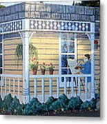 The Artists Cottage Metal Print