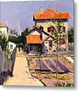 The Artists House At Yerres Metal Print