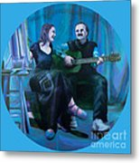 The Artists Metal Print