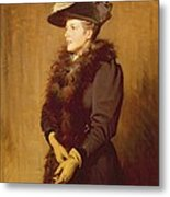 The Artists Wife, 1893 Metal Print