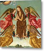 The Ascension Of Saint Mary Magdalene Metal Print