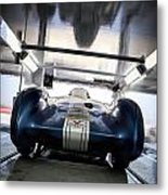 The Attempt- Mickey Thompson- Metal And Speed Metal Print by Holly Martin