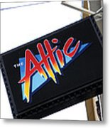 The Attic Myrtle Beach Sc Metal Print