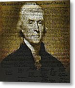 The Author Of America Metal Print