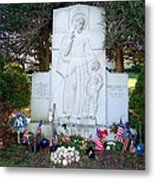 The Babe's Resting Place Metal Print