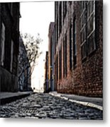 The Back Alley Metal Print