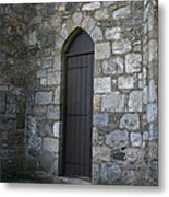 The Back Door Metal Print