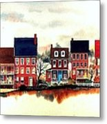 The Back Of The Strand Metal Print