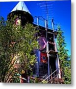The Back Stairs Metal Print