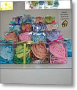 The Bakery Section Metal Print