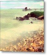 The Balaton Shore Metal Print