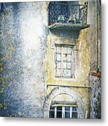 The Balcony Scene Metal Print