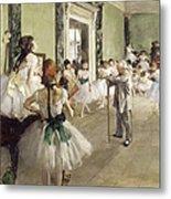 The Ballet Class Metal Print