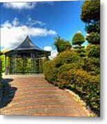 The Bandstand Metal Print