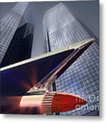 The Bank Metal Print