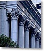 The Bank Of California Metal Print