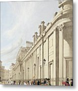The Bank Of England Looking Towards Metal Print