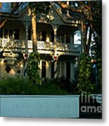 The Banyan House Resort In Key West Metal Print
