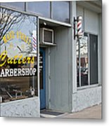 The Barber Shop 3 Metal Print