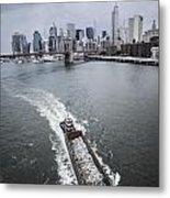 The Barge Metal Print