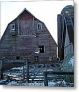 The Barn 3 Metal Print