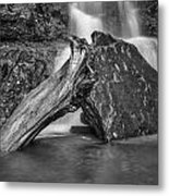 The Base Of The Falls Metal Print