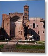 The Basilica Of Constantine Metal Print