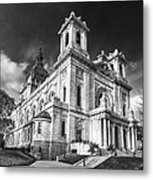 The Basilica Of St Mary Metal Print