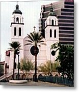 The Basilica Of St. Mary Metal Print