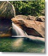 The Basin At Franconia Notch State Park Nh Metal Print